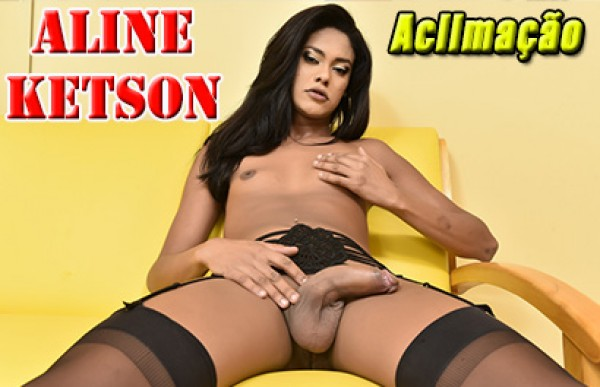 Aline Ketson - Acompanhante Travesti São Paulo