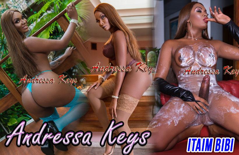 Andressa Keys - Acompanhante travesti são paulo