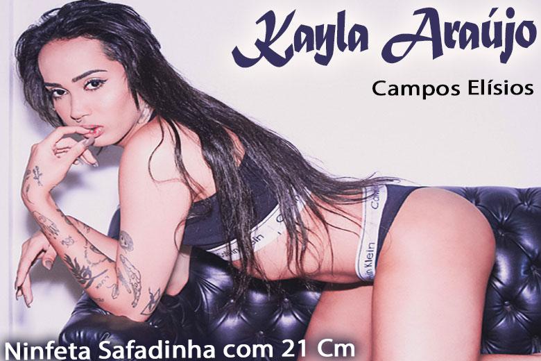 Kayla Araújo - Acompanhante travesti são paulo