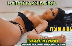 Patricia Oliveira - TRANSEX SP Itaim Bibi